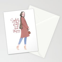 Lenna Hijab Stationery Cards