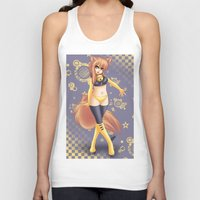 kiki Tank Tops featuring Kiki by HaruShadows