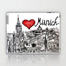 I love Munich Laptop & iPad Skin