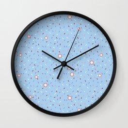 Confetti Shower Wall Clock