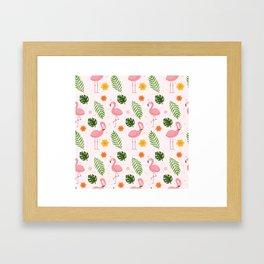Modern Animal Pattern Framed Art Print