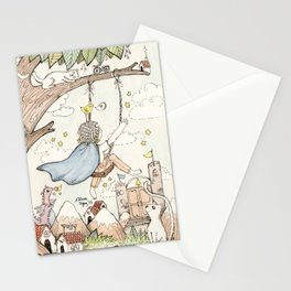 Sol de la Noche, Evening Sun Stationery Cards