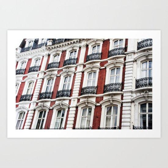 london red  Art Print