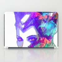 maleficent iPad Cases featuring Maleficent by Ryky