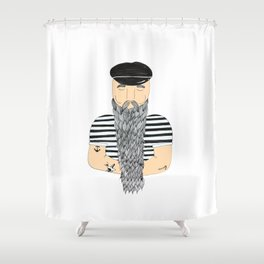 Sailor. Shower Curtain