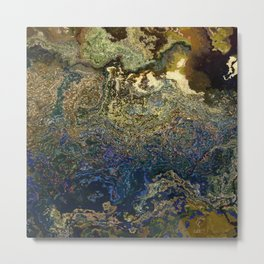 stone with lasurit Metal Print