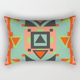 Bright Geometric Rectangular Pillow
