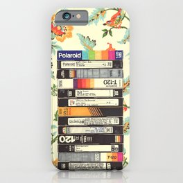 VHS & Entry Hall Wallpaper iPhone Case