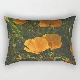 California Poppies 011 Rectangular Pillow