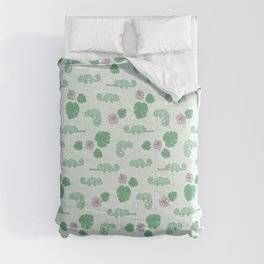 Remi the Chameleon Comforters