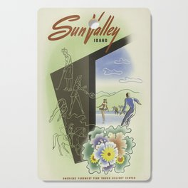 Vintage poster - Sun Valley, Idaho Cutting Board
