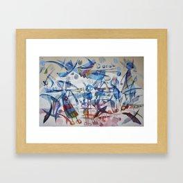 I giocolieri Framed Art Print