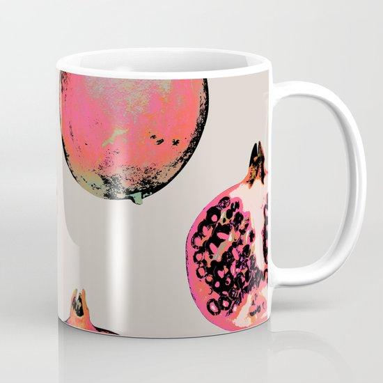 Pomegranate Pattern Mug