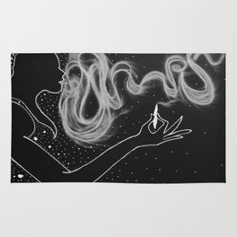 Midnight Toker (#3), Smoking Lady Series Rug