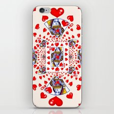 CARNIVAL RED QUEEN OF HEARTS iPhone & iPod Skin