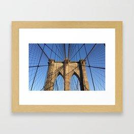 BKLYN I Framed Art Print