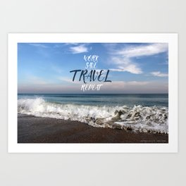 Travel Ocean Art Print
