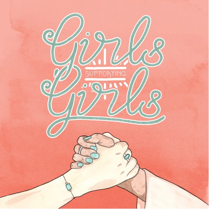 Girls Supporting Girls Intersectional Feminism Comforters