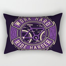 Ride Harder Rectangular Pillow