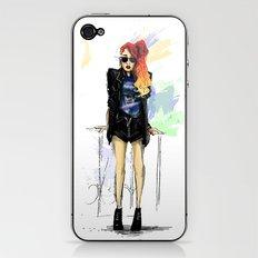 Flamboyante ! iPhone & iPod Skin