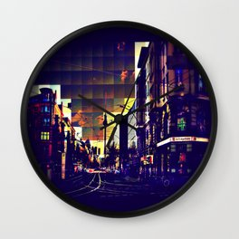 Berlin Art Wall Clock