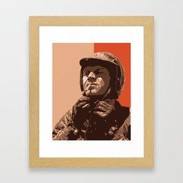 S McQueen Framed Art Print