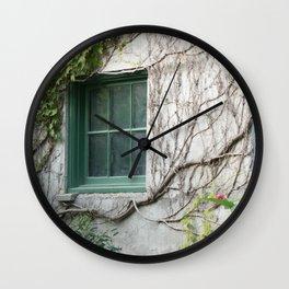 Botanical Embrace Wall Clock