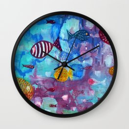 Reflexes Wall Clock