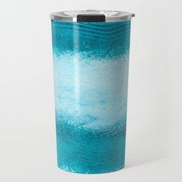 WAVES OF BLUE Travel Mug