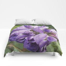 Wisteria Flower paint like Comforters