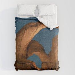 Double  Arch  - Nature Window in Utah Comforters