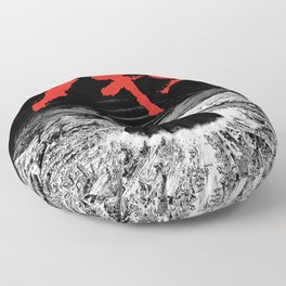 Neo Tokyo Is About to Explode Floor Pillow