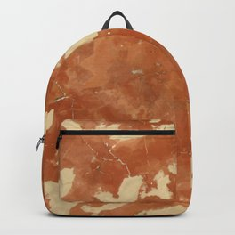 Brown marble texture background. Backpack