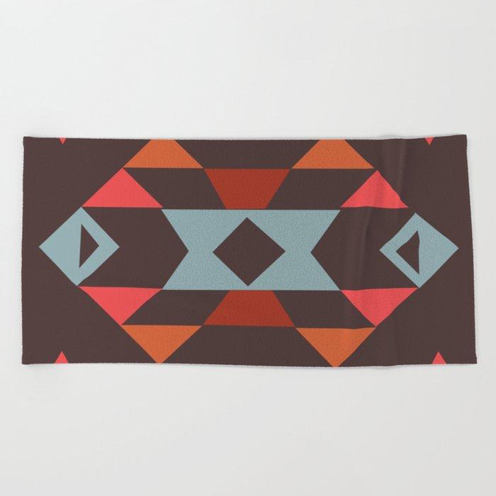 American Native Pattern No. 44 Beach Towel