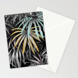 Did You Get My Message?  - Tropical Palm Leaves Mixed Media Photography Illustration Stationery Cards