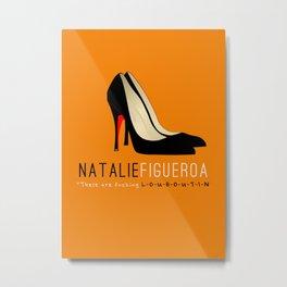 Natalie Figueroa #2 | OITNB Metal Print