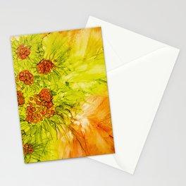 In Orange Stationery Cards