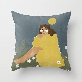 Sun don't shine Throw Pillow