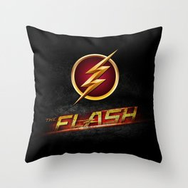 The Flash Inside Throw Pillow