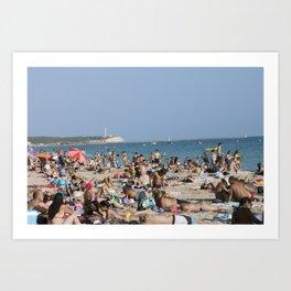 Beach Time Art Print