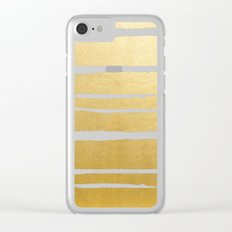 Gold Vibes Only #society6 #decor #buyart Clear iPhone Case