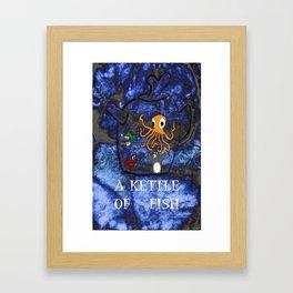 Kettle of Fish Framed Art Print