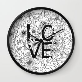 Love is all you need Wall Clock