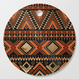Aztec Ethnic Pattern Art N7 Cutting Board