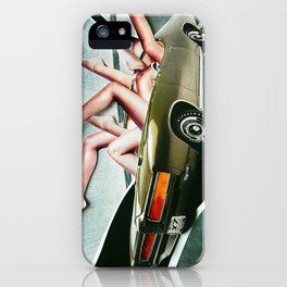 Muscle Magnet   Collage iPhone Case