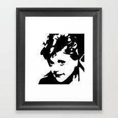 Fletcher, She Wrote Framed Art Print