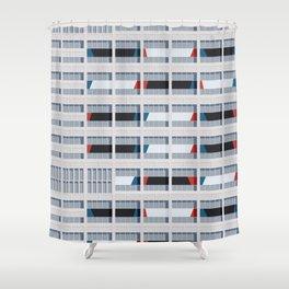 S03-2 - Facade Le Corbusier Shower Curtain