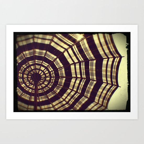 Antique Umbrella Art Print