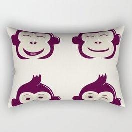 baby monkey Rectangular Pillow