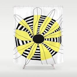 FLOWERY INA / ORIGINAL DANISH DESIGN bykazandholly Shower Curtain